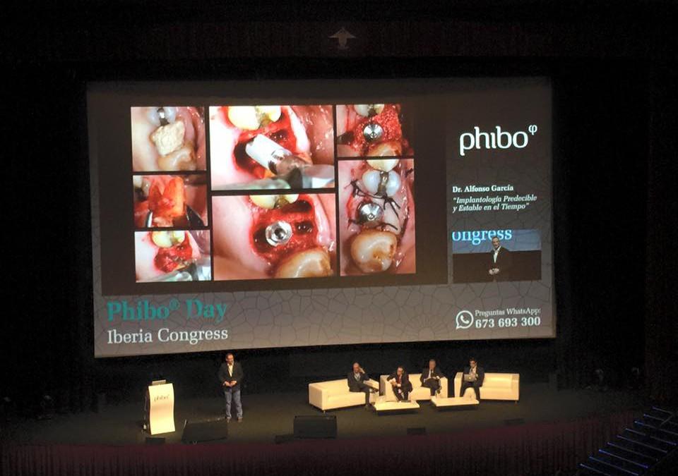 Ponencia del Dr.Alfonso García en el Phibo Day Congress