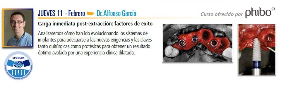 Conferencia del Dr. Alfonso García en SEPES