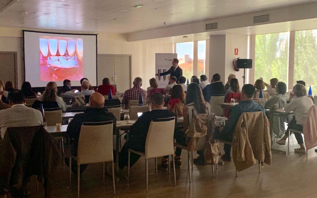 18 Mayo 2019 Curso impartido por el Dr. Alfonso García a GEIDE (Grupo de Estudios Implantológicos De España) Madrid