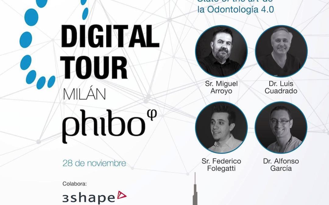Milán (Italia) 28 noviembre 2019. El Dr.Alfonso García Pérez invitado como especialista en Implantología Digital para hablar sobre la Implantología de Carga Inmediata.